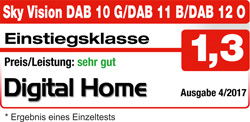 sky vision DAB 10, 11, 12 - sehr gut - Digital Home