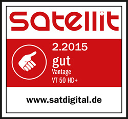 Satellit gut Test 02/2015 - Vantage VT 50 HD+
