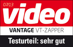 Video 07/2013 sehr gut Vantage VT Zapper