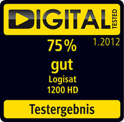 LogiSat 1200 HD - Digital Tested 75%