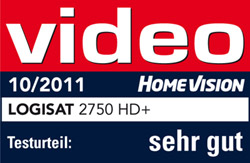 Video - Homevision - sehr gut - LogiSat 2750 HD+